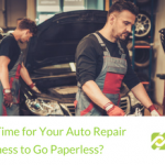 Is It Time for Your Auto Repair Business to Go Paperless? | BBDS